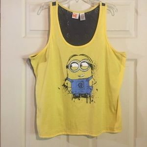 Despicable Me Tank Made by Minions